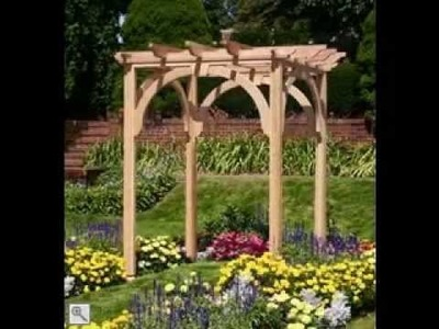 DIY Wedding arbor ideas