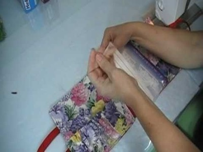 Easy Organizer Bag for Sewing or Crafts