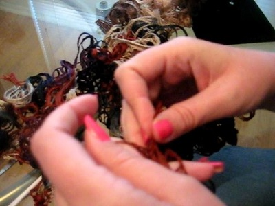 Flamenco Scarf Yarn Crochet Pattern and Instructions