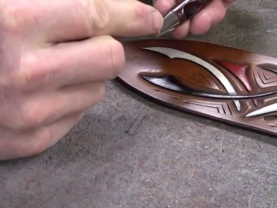Guitar Strap Making Part 5 How to Make Leather Guitar Straps for Acoustic and Electric Guitars