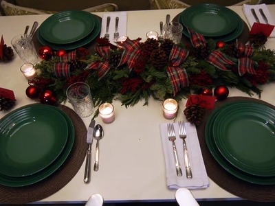 Help! I Need a Christmas Tablescape   At Home With P. Allen Smith