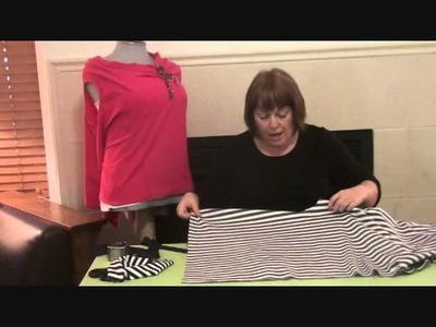 HotPatterns presents a tutorial for our Fast & Fabulous Origami Knit Top