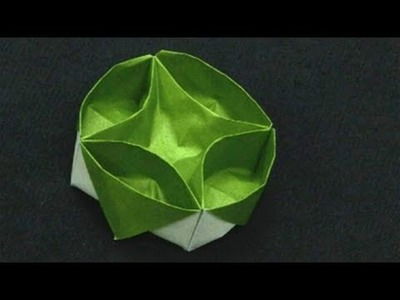 How To Do Origami With Lazy Susan's Box