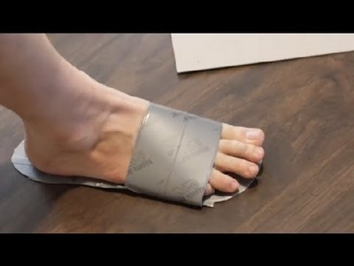 How to Make Duct Tape Flip-Flops : Duct Tape Crafts