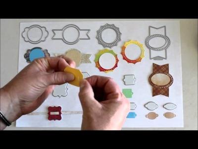 Lifestyle Crafts Label It Kit Dies by Quickutz