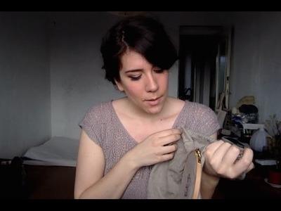 Mandarine's episode 11: sock knitting, botanical embroidery & allotment garden dreams