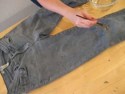 Missa by Design: DIY 6 (Distressed Jeans)