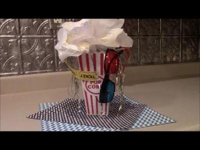 Movie Theater Birthday Party DIY Centerpieces