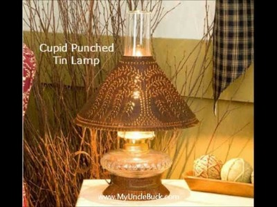 MyUncleBuck.com Presents Punched Tin Lighting That You Have Never Seen