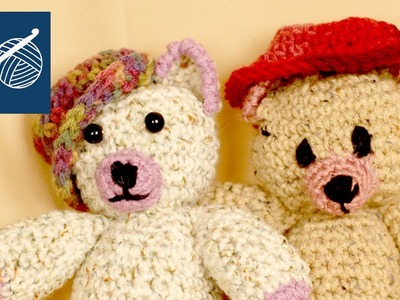 OGEECHEE BEAR CROCHET HAT - Left Hand Crochet Geek