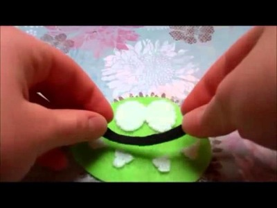 Om Nom Plushie Tutorial (Cut the Rope)