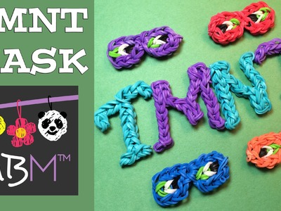 Rainbow Loom Band Charms - TMNT Teenage Mutant Ninja Turtles Masks
