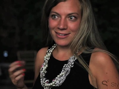 StyleCaster Video captures Jewelry Designer Fenton.Fallon's Cocktail and DIY Jewelry Making Event!