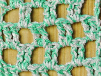 Summer scarf crochet tutorial