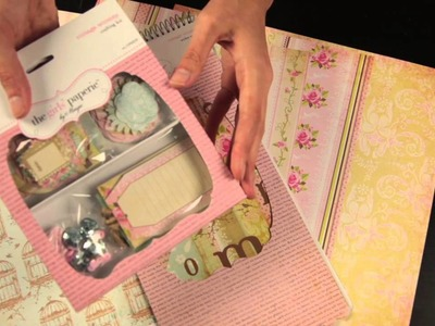 The Girls' Paperie by Margie - Vintage Whimsy Scrapbook Collection