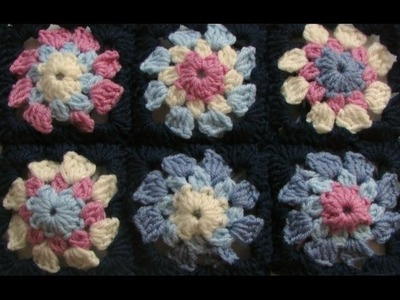 VERY EASY crochet granny square tutorial -  granny square baby blanket.afghan for beginners