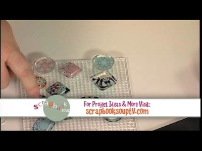 109-4 Julie Fei-Fan Balzer uses software to create funky kaleidoscope pendants on Scrapbook Soup