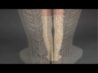#31 Lace Stockings, Vogue Knitting Spring.Summer 2009