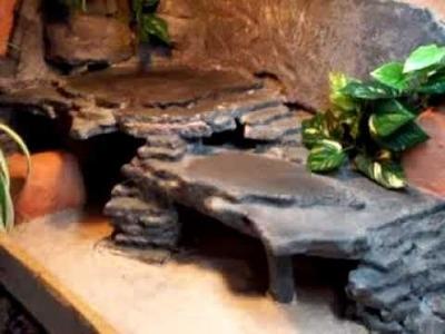 Bearded dragon home DIY vivarium terrarium (part 2)