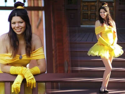 BELLE: DIY DISNEY PRINCESS COSTUME