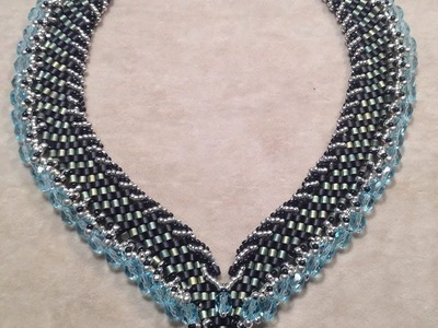 Braided Stripes Necklace Tutorial