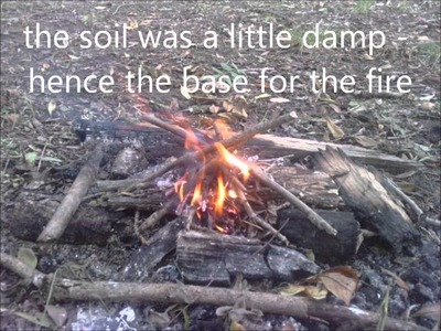 Bushcraft skills: camp routine and teapot hook