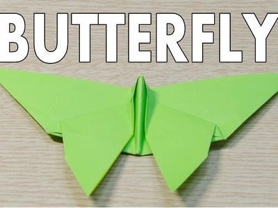 Butterfly Origami : Easy and Simple Tutorial