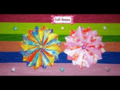 Craft Maniacs 4: Tea Bag Folding Rosette 2