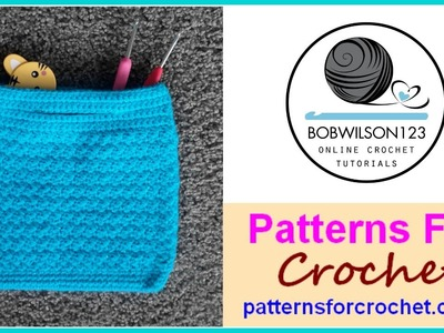 Crochet Bag Tutorial CAL Part 1 of 2