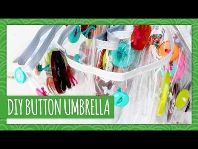 DIY Button Umbrella - Weekly Recap - HGTV Handmade