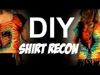 DIY Creative T-Shirt Cutting Howto