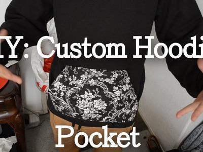 DIY Custom Hoodie Pocket