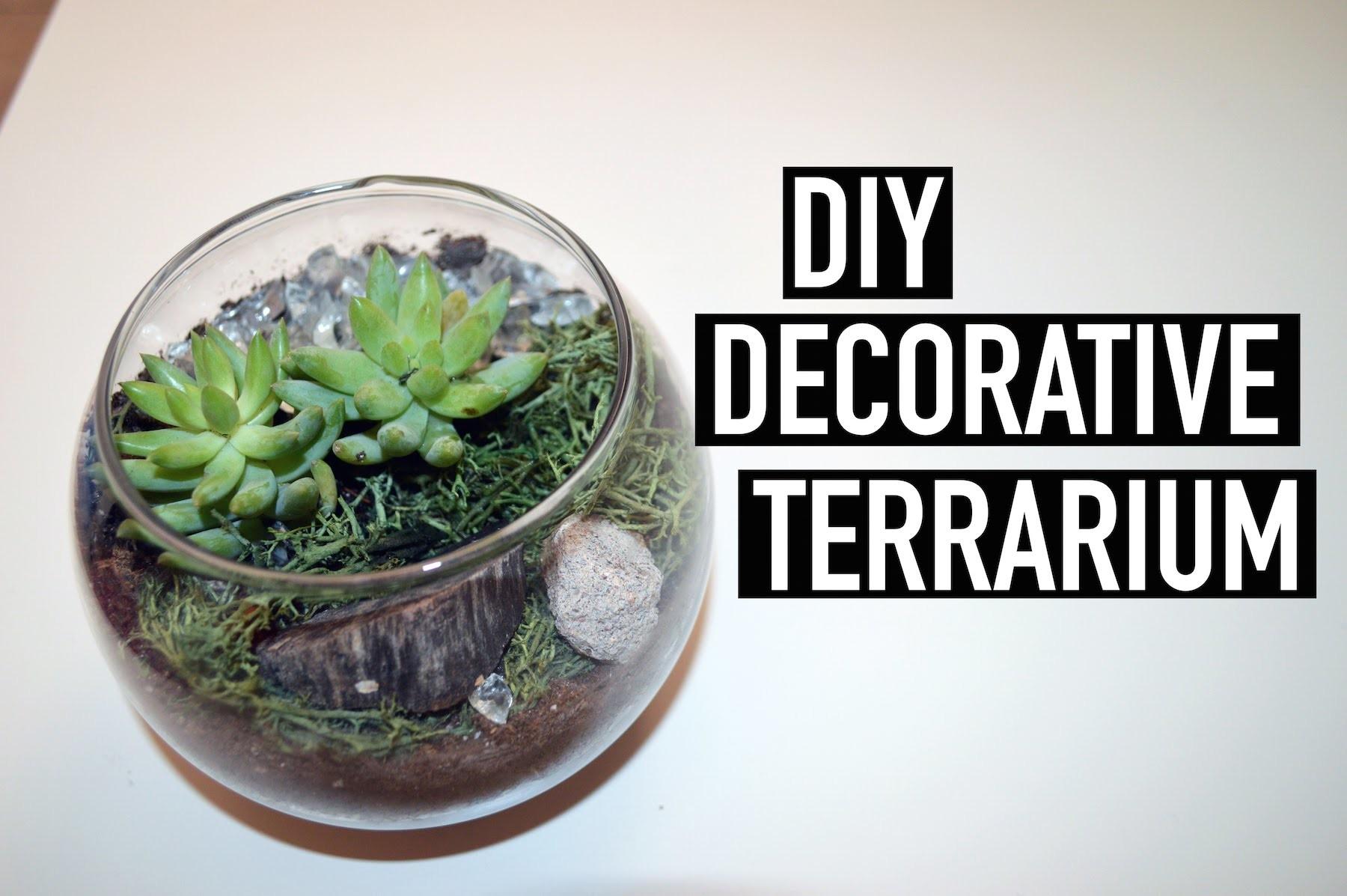 DIY Decorative Terrarium | The Fashion Citizen