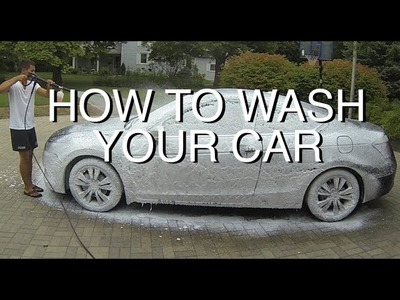 DIY: Foam Cannon Your Car Properly (Pre-Rinse)