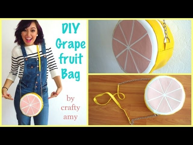 DIY Grapefruit Bag