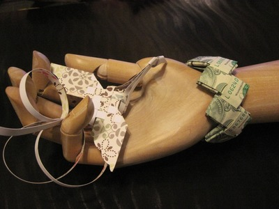 Dollar Origami: $16 Bracelet (Modular)
