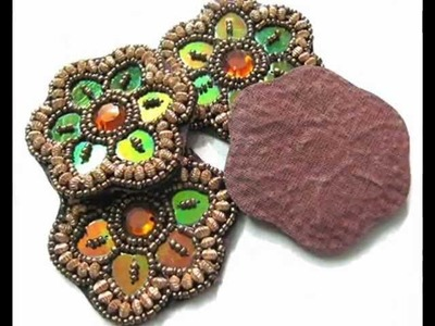 Dress Decorative Stone Sewing Beaded Appliques From India