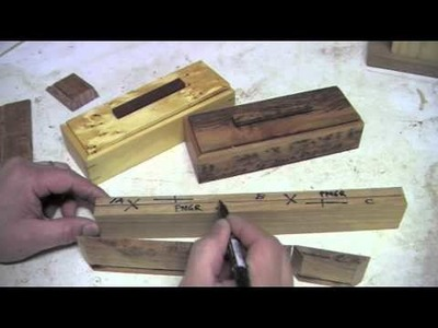 Hand made pen cases - Video 2