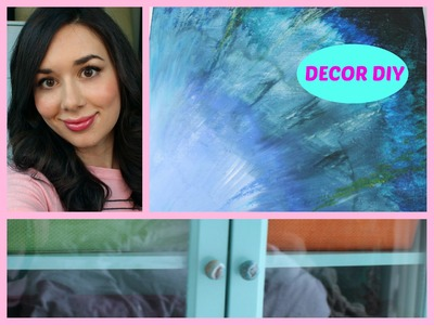 Home Decor DIY: Ombre Paintings and Tiffany Furniture