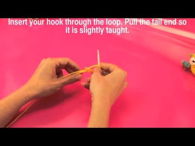 How to Create a Slip Knot & Chain Stitch