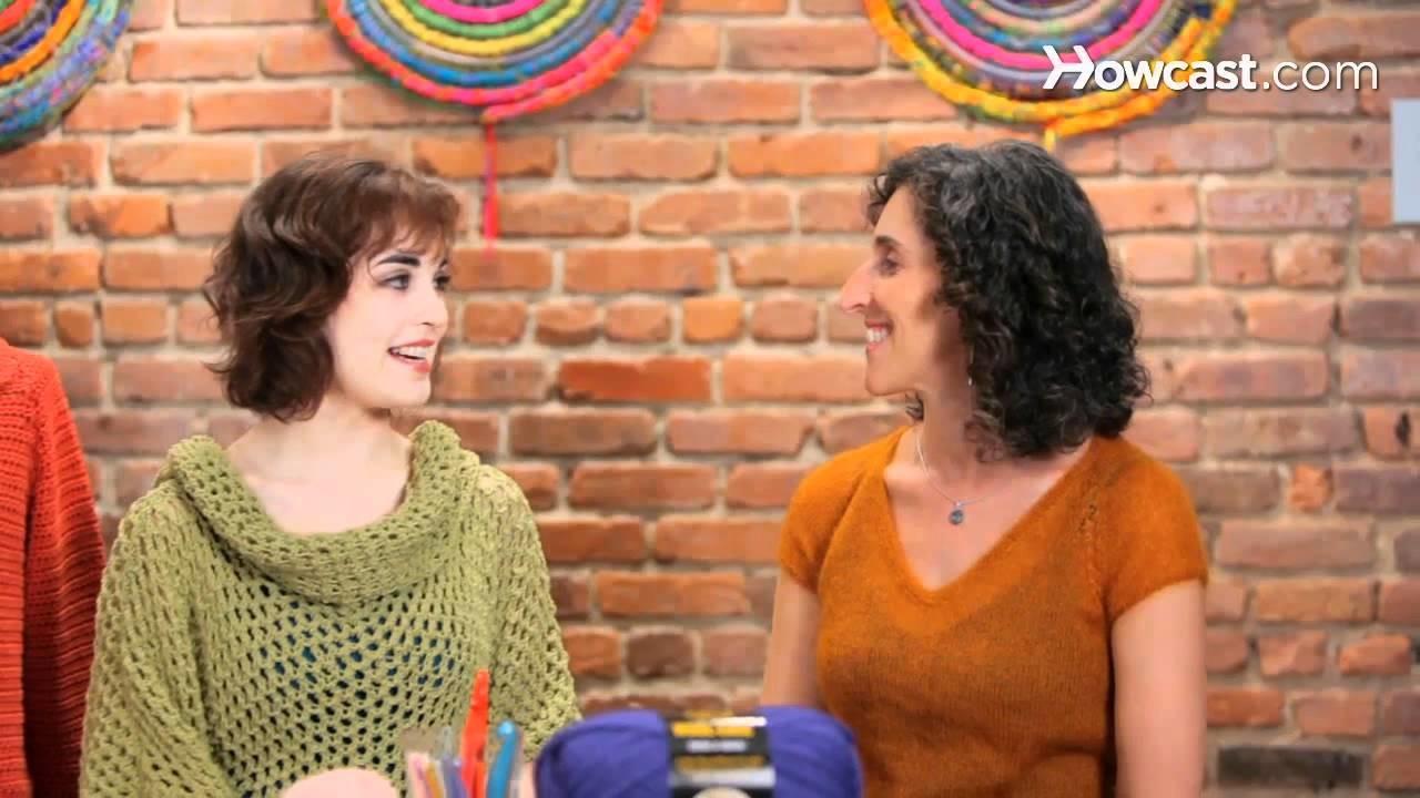 How to Crochet w. Lion Brand Yarn Studio   Crocheting