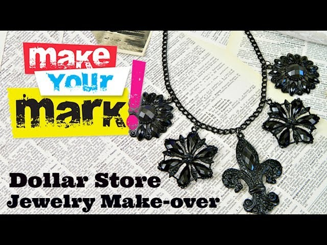 HOW TO: Dollar Store Jewelry Makeover DIY