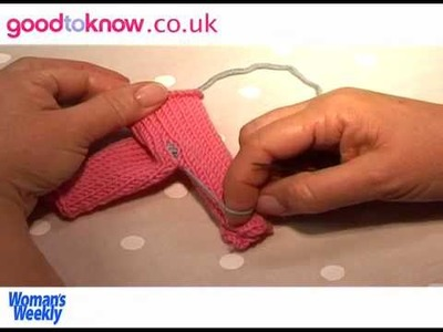 How To Knit: Making Up