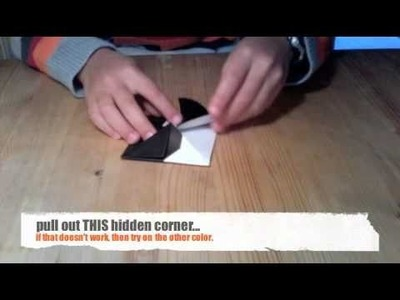 How to make a origami yin yang symbol