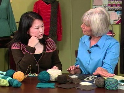 Knitting Daily TV Episode 810's How-To, Sponsored by Bijou Basin Ranch