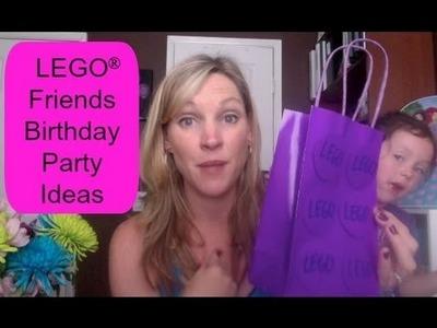LEGO Friends Birthday Party Ideas