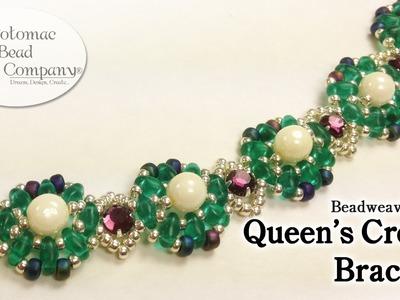 "Make a "" Queen's Crown "" Bracelet"