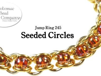 "Make a "" Seeded Circles"" Bracelet"