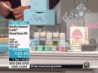 Martha Stewart Crafts Home Decor Kit