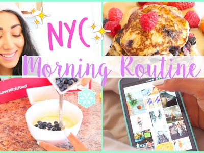 NYC Morning Routine